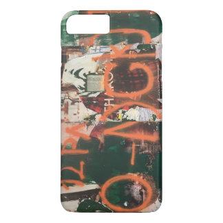 Coque iPhone 8 Plus/7 Plus Art urbain de Spraypaint de graffiti de secteur de
