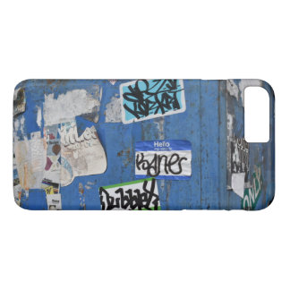 Coque iPhone 8 Plus/7 Plus Art urbain New York de graffiti de photographie de