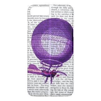 Coque iPhone 8 Plus/7 Plus Ballon à air chaud (pourpre) d'hydrogène de