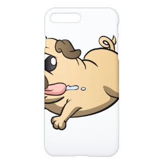 Coque iPhone 8 Plus/7 Plus bande dessinée courante de carlin
