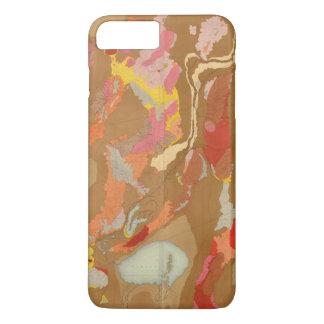Coque iPhone 8 Plus/7 Plus Bassin du Nevada géologique