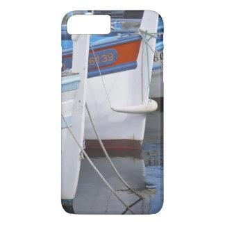 Coque iPhone 8 Plus/7 Plus Bateaux de pêche typiques de Provencal peints dans