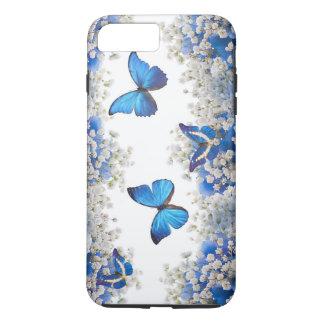Coque iPhone 8 Plus/7 Plus Beau cas de l'iPhone 7 de papillons