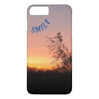 Coque iPhone 8 Plus/7 Plus Beau lever de soleil de SOURIRE… pour