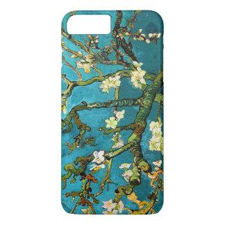 Coque iPhone 8 Plus/7 Plus Beaux-arts se développants d'arbre d'amande de Van
