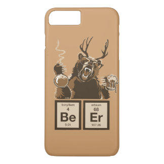 Coque iPhone 8 Plus/7 Plus Bière découverte par ours de chimie