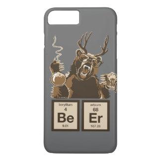 Coque iPhone 8 Plus/7 Plus Bière découverte par ours drôle de chimie
