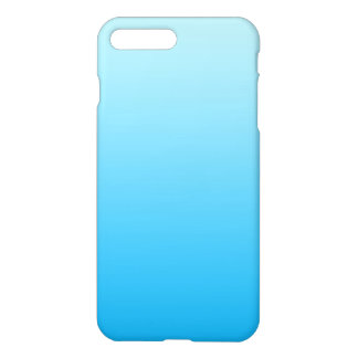 Coque iPhone 8 Plus/7 Plus Bleu Ombre d'Aqua