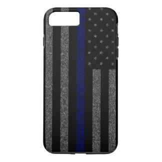 Coque iPhone 8 Plus/7 Plus Blue Line mince marquent la caisse plus de