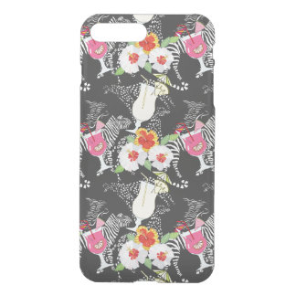 Coque iPhone 8 Plus/7 Plus Boissons tropicales avec des animaux
