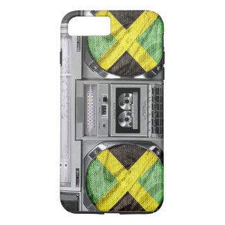 Coque iPhone 8 Plus/7 Plus Boombox de la Jamaïque