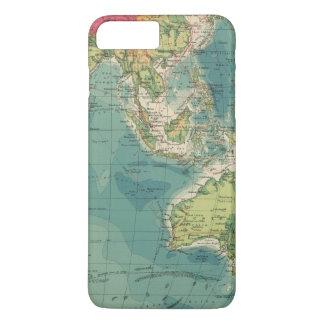 Coque iPhone 8 Plus/7 Plus Câbles de l'Océan Indien, stations sans fil