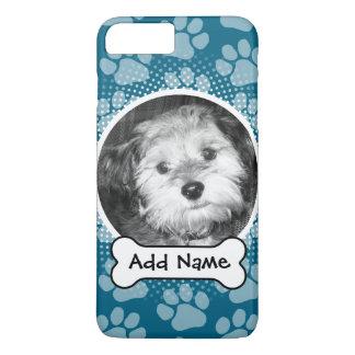 Coque iPhone 8 Plus/7 Plus Cadre de photo d'animal familier avec les