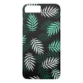 Coque iPhone 8 Plus/7 Plus Caisse blanche et verte élégante de téléphone des