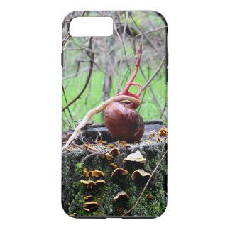Coque iPhone 8 Plus/7 Plus Caisse de pousse d'arbre de maronnier américain
