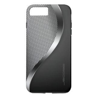 Coque iPhone 8 Plus/7 Plus caisse foncée avec le plat et les vis perforés