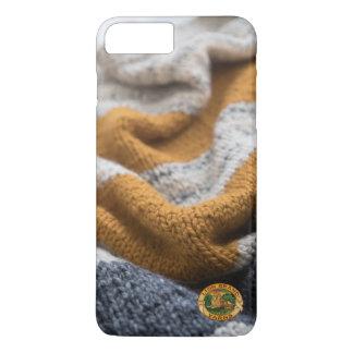 Coque iPhone 8 Plus/7 Plus Caisse tricotée de téléphone portable