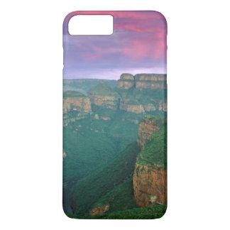Coque iPhone 8 Plus/7 Plus Canyon de rivière de Blyde au coucher du soleil,