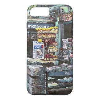 Coque iPhone 8 Plus/7 Plus Carré des syndicats, New York City, Etats-Unis