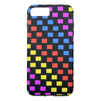 Coque iPhone 8 Plus/7 Plus Carrés colorés