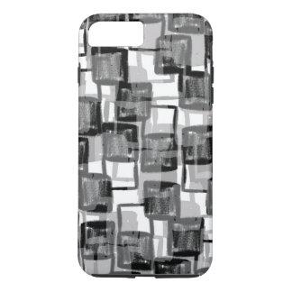 Coque iPhone 8 Plus/7 Plus Carrés monochromes