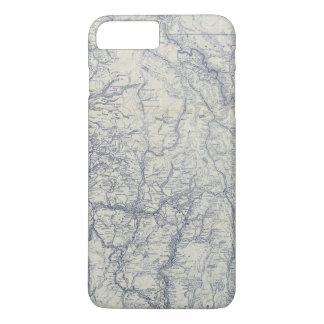 Coque iPhone 8 Plus/7 Plus Carte automatique 2 de traînées du fonctionnaire