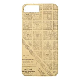 Coque iPhone 8 Plus/7 Plus Carte d'affaires de San Francisco