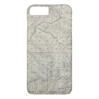 Coque iPhone 8 Plus/7 Plus Carte de section de T2021S R3031E Tulare County