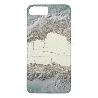 Coque iPhone 8 Plus/7 Plus Carte du lac Tahoe
