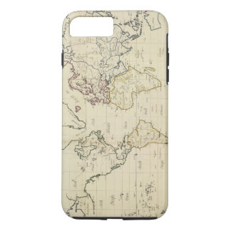 Coque iPhone 8 Plus/7 Plus Carte du monde