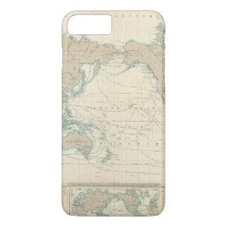 Coque iPhone 8 Plus/7 Plus Carte du monde des canaux d'expédition