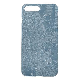 Coque iPhone 8 Plus/7 Plus Carte graphique de Boston