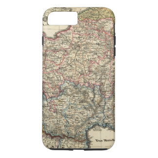 Coque iPhone 8 Plus/7 Plus Carte linguistique de la France
