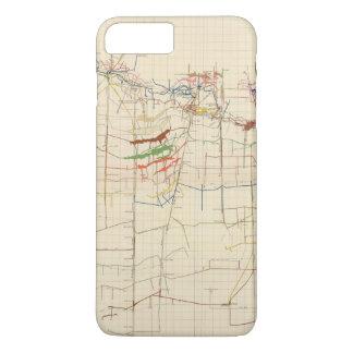 Coque iPhone 8 Plus/7 Plus Cartes de mine de Comstock numéro VI