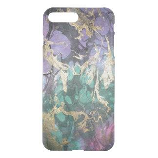 Coque iPhone 8 Plus/7 Plus Cas abstrait de marbre de concepteur