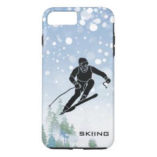 Coque iPhone 8 Plus/7 Plus Cas de ski de l'iPhone 7 de conception
