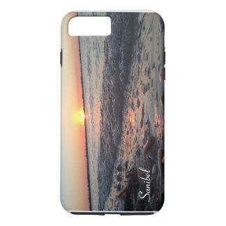 Coque iPhone 8 Plus/7 Plus Cas de téléphone de coucher du soleil de Sanibel