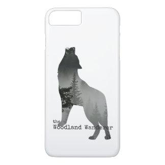 Coque iPhone 8 Plus/7 Plus Cas de téléphone de loup
