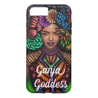Coque iPhone 8 Plus/7 Plus Cas de téléphone portable de déesse de Ganja
