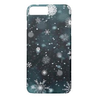 Coque iPhone 8 Plus/7 Plus Cas élégant de téléphone des flocons de neige | de