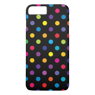 Coque iPhone 8 Plus/7 Plus Cas plus de l'iPhone 6 de point de polka de