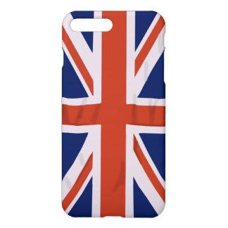 Coque iPhone 8 Plus/7 Plus Cas plus de l'iPhone 7 anglais de drapeau