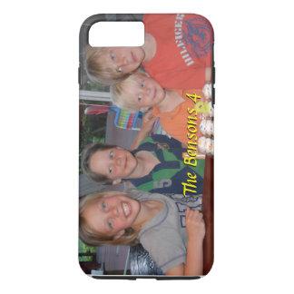 Coque iPhone 8 Plus/7 Plus Cas plus de l'iPhone 7 de photo avec le nom