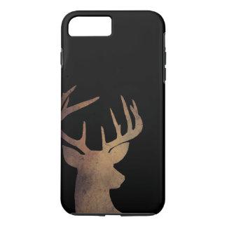 Coque iPhone 8 Plus/7 Plus Cas rustique de téléphone portable de tête de