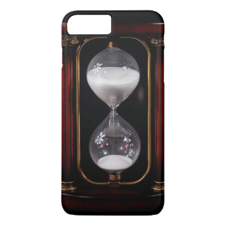 Coque iPhone 8 Plus/7 Plus Cas vintage classique de téléphone du sablier |