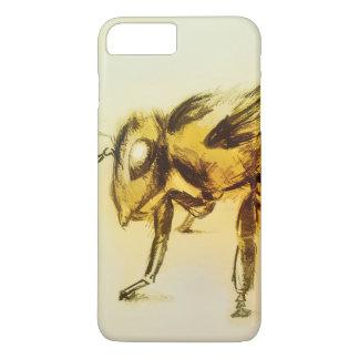 Coque iPhone 8 Plus/7 Plus cas vintage d'iPhone - abeille