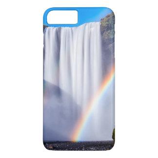 Coque iPhone 8 Plus/7 Plus Cascade et arc-en-ciel