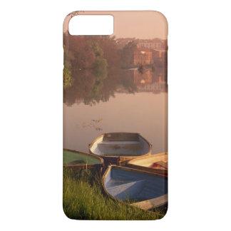 Coque iPhone 8 Plus/7 Plus Cathédrale et rivière Tormes, Salamanque, Castille