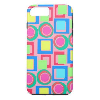 Coque iPhone 8 Plus/7 Plus Cercles et carrés