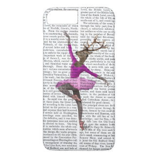 Coque iPhone 8 Plus/7 Plus Cerfs communs de ballet dans le rose